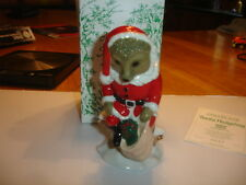 WADE   FOREST DEEP SERIES   SANTA HEDGEHOG  LIMITED EDITION  OF 2000