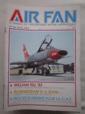 AIR FAN N°54 REPUBLIC XF-91 WILLIAM TELL AS RUDEL CAF CONFEDERATE AIR FORCE