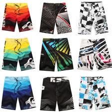 Men's Surf Board Shorts Pantalones Cortos De Playa De Verano Piscina troncos Traje de Baño 30-38