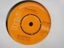 """ELVIS PRESLEY """" ALL SHOOK UP  """" UK RCA ORANGE LABEL REISSUE EX+ COND."""