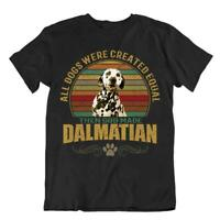 Dalmatian Dog T-Shirt Cute Cool Gift For Dogs Pet Lovers Best Friend Vintage Fun