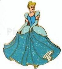 Disney Cinderella in Blue Glitter Gown Disneyland Resort Paris Dlrp pin