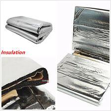 Car Turbo Heat Shield Mat Exhaust Muffler Insulation hood Fiberglass Cotton