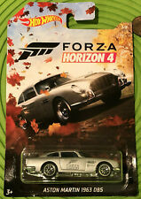 2019 HOT WHEELS FORZA HORIZON 4 3/6 SILVER ASTON MARTIN 1963 DB5