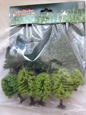 Ziterdes 25mm Terrain Magic Forest Trees 10 Pieces NEW D&D Dwarven Forge