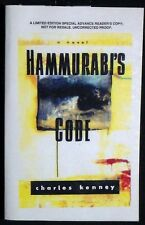 Hammurabi's Code by Charles Kenney Advance Reader's Copy/Uncorrected SIGNED