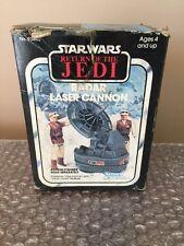 """Vintage Original 1980's Kenner Star Wars """"Return of the Jedi"""" Radar Laser Cannon"""