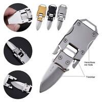 Kleines Taschenmesser Mini Messer Einhandmesser Taschenwerkzeug Gürtelmesser EDC