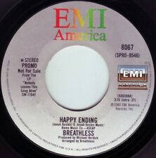 BREATHLESS Happy Ending ((** NEW UNPLAYED 45 DJ**)) from 1980