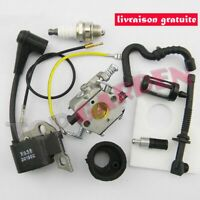 Carburateur Bobine D'Allumage Kit pour Stihl 017 018 MS170 MS180 Tronçonneuse