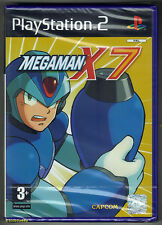 Megaman Mega Man X7 Sony PlayStation 2 Ps2 PAL Video Game Complete