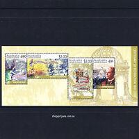 2001 - Australia - Centenary of Federation mini-sheet - MNH