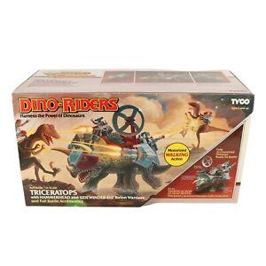 Tyco Dino-Riders - Triceratops & Hammerhead - US Box sealed / MISB