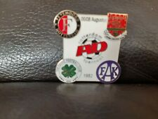 Feyenoord Rotterdam AD Tournament 1982 Pin with Arsenal, Celtic & Austria Wien.