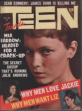Teen Trends Magazine July 1966 Mia Farrow, Liz Taylor EX 010616DBE