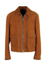 b507a7697 New TOM FORD Leather Bomber Jacket Coat Size 58 / 48R U.S. Outerwear Jacket