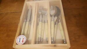 Laguiole steak cutlery 16 set -jean dubost France