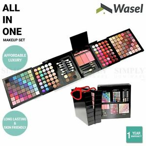 Wasel Make Up Set Eyeshadow Palette Blush Gloss Cosmetic Kit 24/74/177 Colours