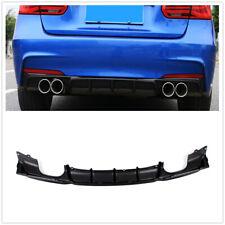 For BMW F30 Rear Bumper Diffuser Lip Body 325i 335i 2012-2017 Quad Out Matte XN