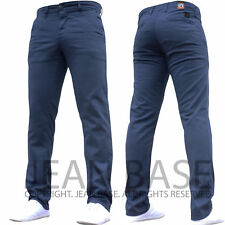 Mens Designer Trousers Chinos Stretch Skinny Slim Fit Jeans All Waist Sizes Holt