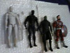 Marvel Legends-White Vision + Black Panther+Talos+ Red Guardian(MCU) Lot Of 4