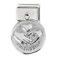 GENUINE Nomination Classic Friendship Steel Pendant Charm 331804/04 / £35 RRP