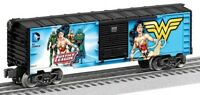 Lionel Justice League Wonder Woman Green Arrow Box Car 2 Pack 6-82947 O Scale