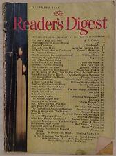 December 1948 Reader's Digest!!!