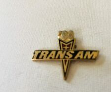 Trans Am - Hat pin , lapel pin , tie tac Memorabilia 1988' Trans Am pin