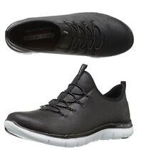 NEW Skechers Sport Women's Flex Appeal 2.0 Top Story Sneaker Shoes Black 8.5
