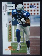 NFL 216 Koren Robinson Seattle Seahawks Upper Deck MVP 2002