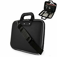 Men Sumaclife Handbag PU Leather Briefcase Laptop Tablet Shoulder Messenger Bag