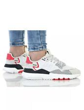 Women/Unisex adidas Originals Nite Jogger Traineers / Ftwr Crystal White/Size 4