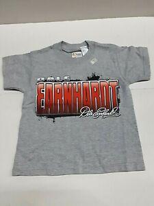 Dale Earnhardt # 3 Nascar Boys Youth Gray T-shirt, Size X-Small