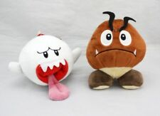 Super Mario Bros game Goomba & Boo Ghost Plush Stuffed Animal Doll Set of 2