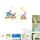 Baby Room Removable Owl Flower Tree Wall Stickers Nursery Decal Mural Art Decor