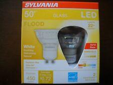 4 x Sylvania GU10 LED Dimmable Light Bulbs New! 6w = 50w PAR16 22 Year Life