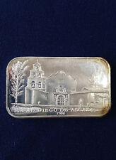 1974 Eldorado Mint San Diego de Acala EDM-5 Silver Art Bar P0555