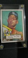 Mickey Mantle Rookie Card 1952 Topps #311 Good RC Centered!! Type 2.