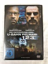 DIE ENTFÜHRUNG DER U-BAHN PELHAM 123 - DVD - NEU & OVP