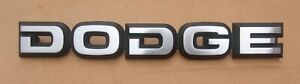 NEW 1986-1993 Dodge Power Ram Truck Van Ramcharger Hood Nameplate