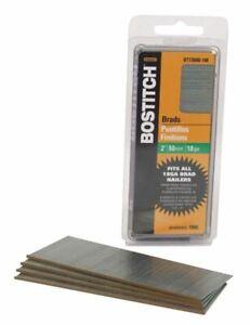 BOSTITCH 18 Gauge Brad Nails 2-Inch Coated 1000 per Box BT1350B-1M