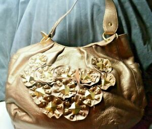 Isabella Fiore Leather Star Studded Penelope Tote