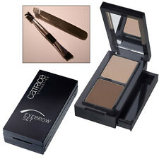 CATRICE 'Eyebrow Set' Eyebrow Kit 2 Powder Shades + Brush & Tweezers