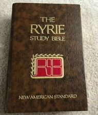 Ryrie Study Bible: New American Standard (1983, Hardcover)