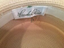 Frank Olive Natural Woven picturesque Hat