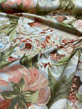 Waverly Kelly Ripa Home Va Va Bloom Henna Rose Fabric By the Yard