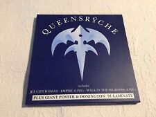 Queensryche LP  Empire, Jet City Woman, Walk In Shadows  UK Import 1991 Box Set