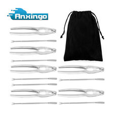 13 Pcs Seafood Tools Set including 7 Forks and 6 Lobster Crab Crackers Set