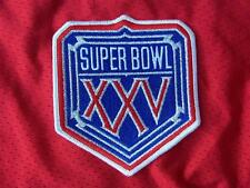 REAL Game Issued NFL Super Bowl (Superbowl) XXV American made embroidered Patch